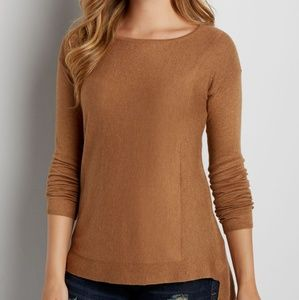 Maurices Ribbed Sweater Tee